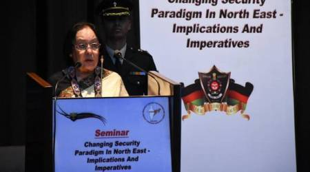 Manipur Governor, Dr Najma Heptulla, insurgency in Manipur, terrorism, indian express, manipur news