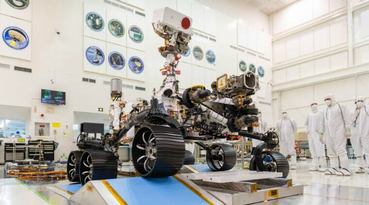 First drive test of NASA's Mars 2020 rover completed successfully