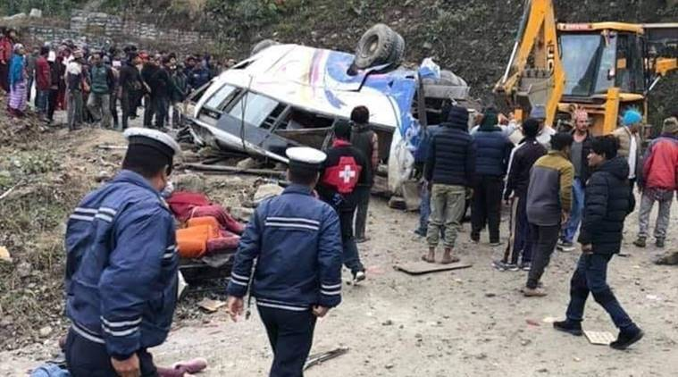 Killed, 18 Injured After Bus Falls Off Road In Nepal
