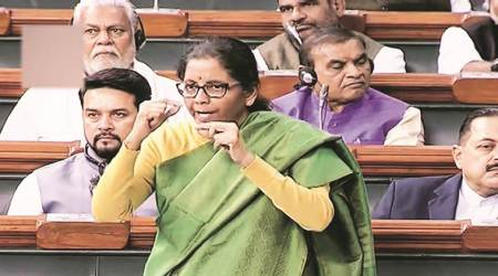 onion prices, nirmala sitharaman remark on onion prices, sitharaman on onion prices in lok sabha, rising onion prices, parliament session