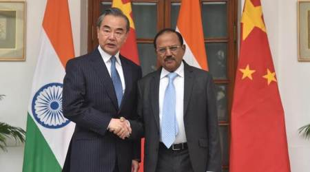 India china talks, india china border dispute, galwan, ajit doval, Wang Yi, doklam, who is wang yi, indian express, nsa ajit doval,