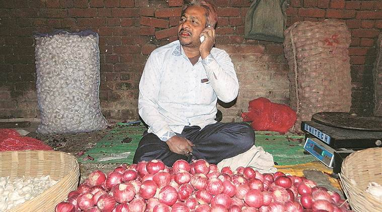onion price increase, onions rates, economic slowdown onion rates, latest news, indian express