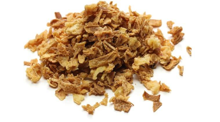 onion flakes, dry onion flakes, indianexpress