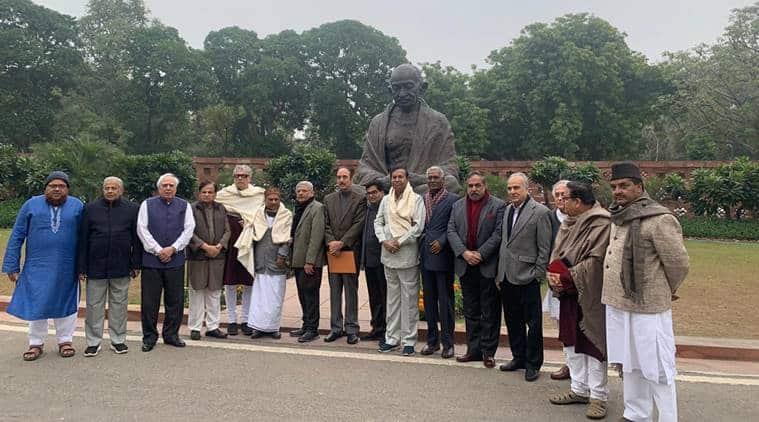 opposition meets president, sonia gandhi, jamia protest, Jamia Millia Islamia police assault, caa protest, caa protest india