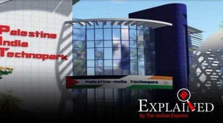 India Palestine techno park, Palestine India techno park, Palestine tech park, Palestine India tech park, India Palestine relations, India Israel relations, Express Explained, Indian Express