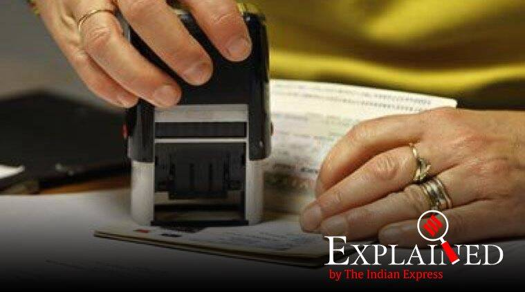 OCI card, Overseas Citizen of India, rules about carrying passport with OCI card, what is OCI card, oci card rules, indian express explained