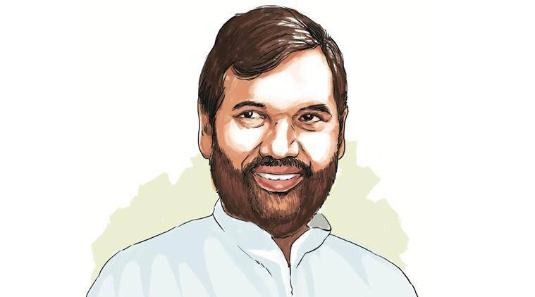 Union minister and Lok Janshakti Party leader Ram Vilas Paswan.