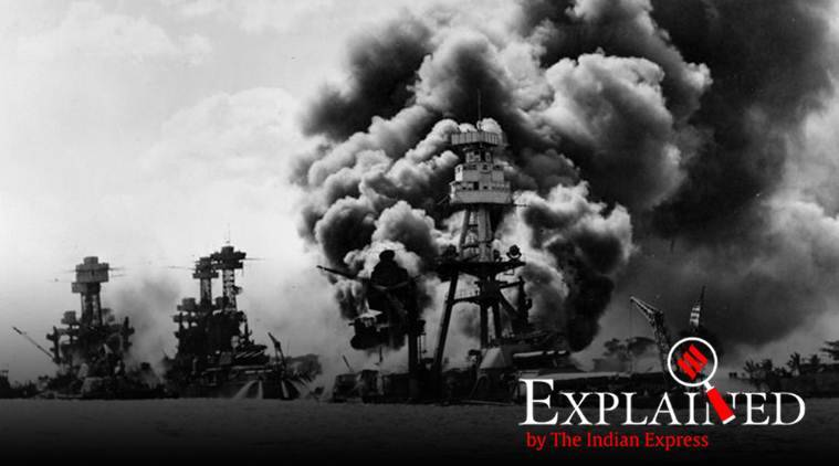 Pearl Harbour attack, Pearl Harbour, Pearl Harbour shooting, US-Japan relations, Donald Trump, indian express, Nanking Massacre, Rape of Nanking