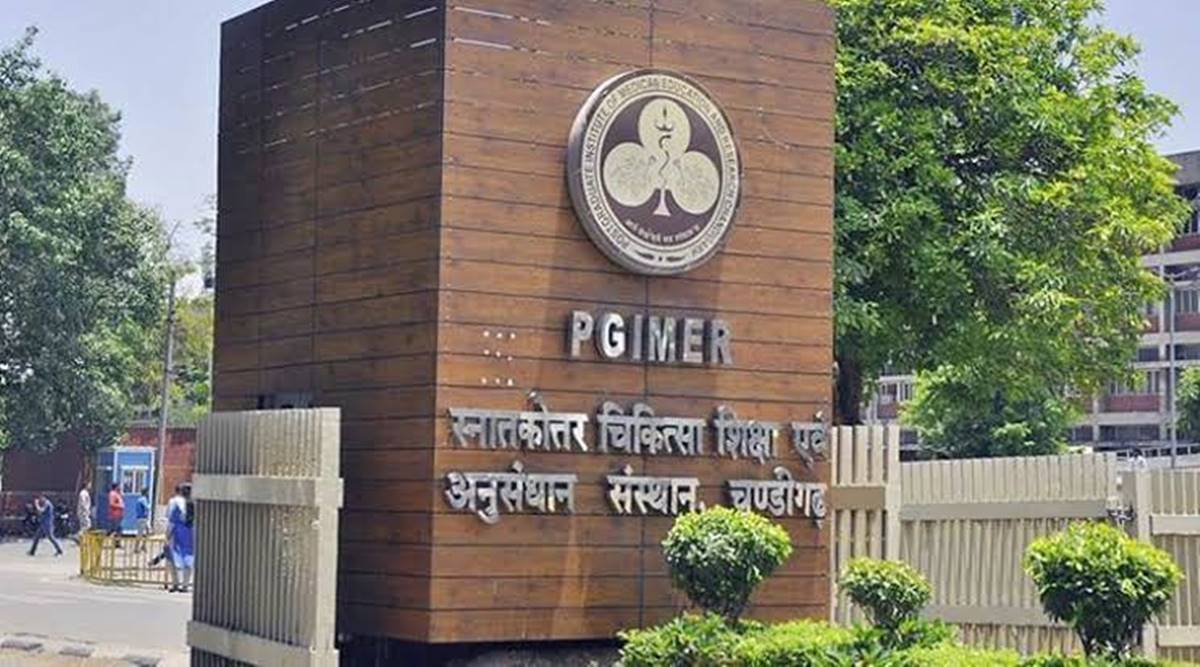 PGIMER chandigarh, PPE kits, quarantined staff, coronavirus cases, chandigarh news, indian express news