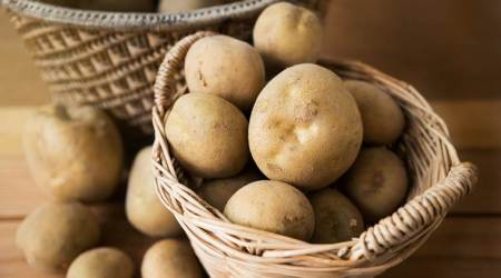 potatoes, skin, skin health, skincare, indian express news