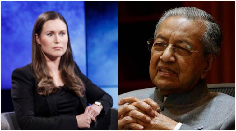 Ask 'old people' for advice: World's oldest PM Mahathir to Sanna Marin, the youngest