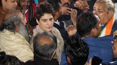 Priyanka Gandhi, Priyanka Gandhi Vadra, Priyanka Gandhi on CAA, Priyanka Gandhi on Citizenship Act, Citizenship Amendment Act, CAA protests, CAA protests UP, Sadaf Zafar, Sadaf Zafar arrest, India news, Indian Express