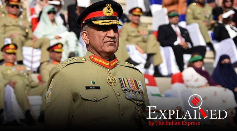 pakistan army chief, pakistan army chief tenure extended, Pakistan Army Amendment Bill, General Qamar Javed Bajwa, pakistan Chief of the Army Staff, indian express explained
