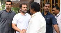 Rahul Gandhi meets family of Wayanad school girl who died of snake bite
