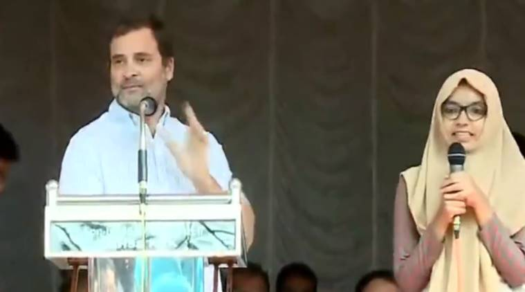 Kerala student wins praise for flawlessly translating Rahul Gandhi's speech