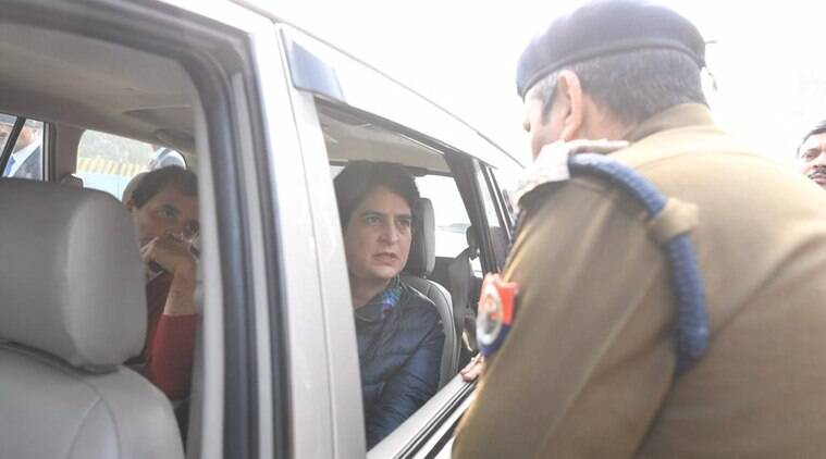 On way to meet families of those killed in Meerut CAA protest violence, Rahul and Priyanka Gandhi denied entry in city