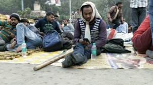 Disabled protest in Delhi again over denial of job in Railways
