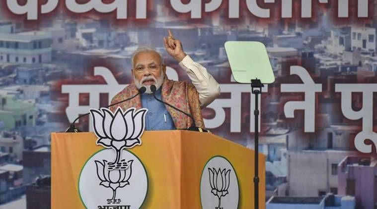 Prime Minister Narendra Modi, Narendra Modi speech Ramlila Maidan, Modi on citizenship amendment act, PM Modi NRC, Modi Ramlila Maidan, indian express
