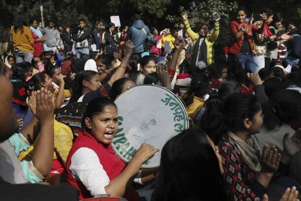 DCW chief sits on indefinite hunger strike against recent incidents of rape