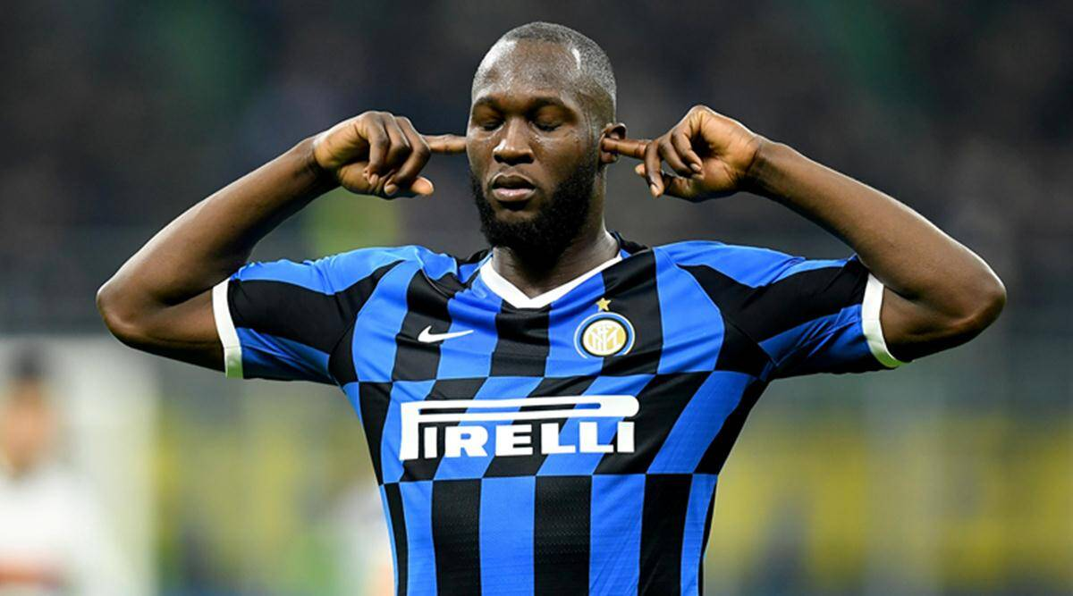 Romelu Lukaku scores brace as Inter Milan demolishes Genoa to share lead |  Sports News,The Indian Express