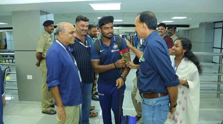 印度vs西印度群岛:Sanju Samson的英雄欢迎,观看视频 包网平台 第1张