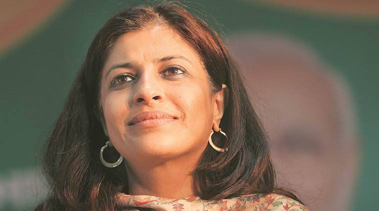 shazia ilmi, bjp leader, Ilmi sidelined, bjp whatsapp group, indian express