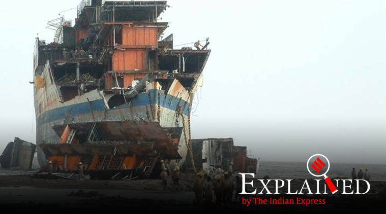 The Recycling of Ships Bill, The Recycling of Ships Bill 2019, ships recycling, recycling ships, what is recycling ships, Express Explained, Indian Express