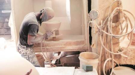 One more silicosis patient died, silicosis patient died in Surendranagar, ceramic workers die due to silicosis, seven ceramic workers have died due to silicosis this year, Rajkot news, gujarat news, indian express news
