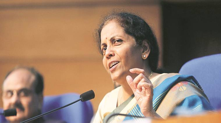 Nirmala Sitharaman, sitharaman on economy slowdown, indian economy slowdown, Nirmala Sitharaman on gst compensation, finance minister on indian economy, indian express