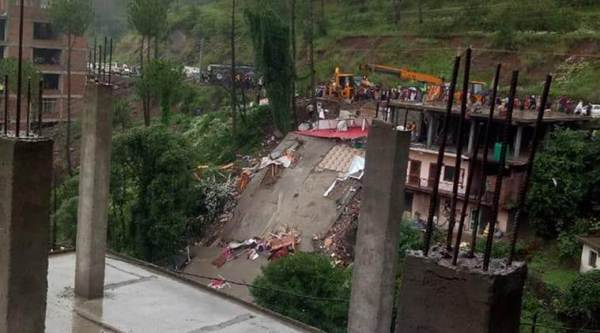chandigarh news, chandigarh city news, Himachal news, Solan building collapse, training sessions for masons and construction workers, solan news, indian express news