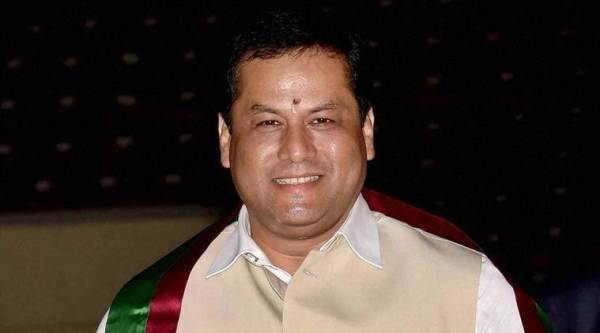 chief minister blames congress and left for violence, violence in Assam, citizenship amendment act protest, NRC protest, police violence, CAA violence, assam news, indian express news