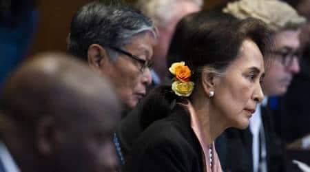 aung san suu kyi, myanmar suu kyi de facto leader, military rule myanmar, rohingya genocide,