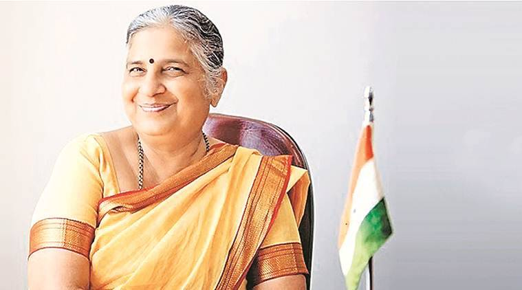 Author Sudha Murthy, Penguin Annual Lecture, Infosys Foundation.