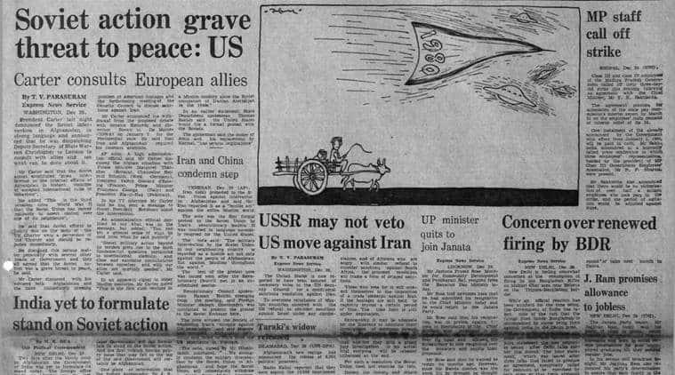 jimmy carter, us vs ussr, ussr split, ussr afghanistan, Jagjivan Ram, indian express archives, forty years ago