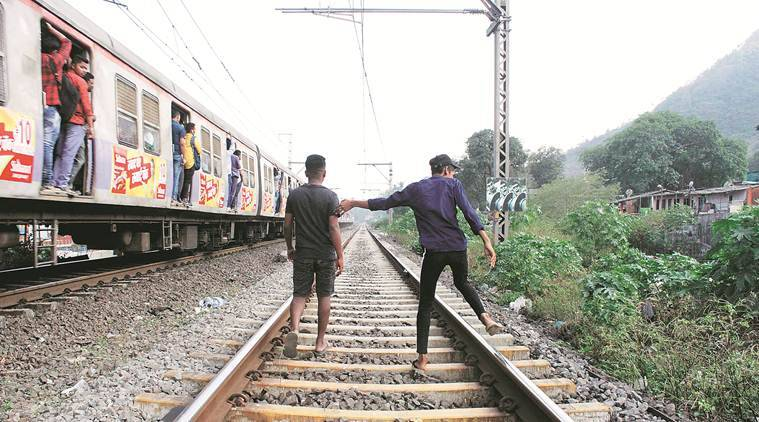 Mumbai news, mumbai city news, trespassing accidents on railway tracks, railway tracks accidents in mumbai, maharashtra news, indian express news