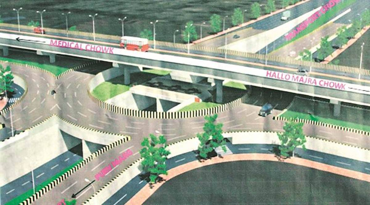 Chandigarh flyover, Chandigarh Tribune flyover, section 29/31 flyover, Punjab Haryana High Court, UT administration, Chandigarh News, Punjab News, Indian Express, Indian Express News