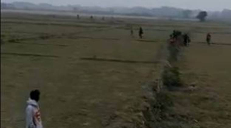 Watch | Tripura royal scion posts video of people crossing field, claims they're Bangladeshis entering India