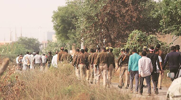 brothers shot dead in greater noida, greater noida murder case, two brother shot dead in greater noida, murder in greater noida, India news, Indian Express