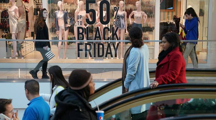 US Black Friday shoppers stay away from stores, make  billion-plus splurge online