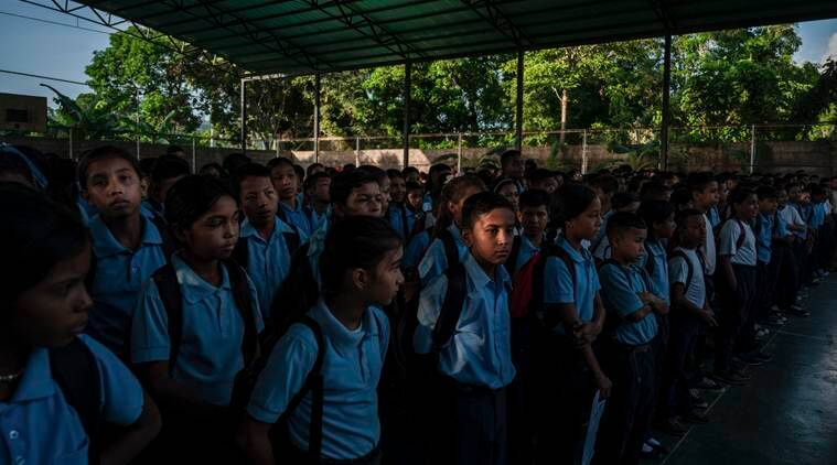 Students fainting from hunger in Venezuela's failing school system