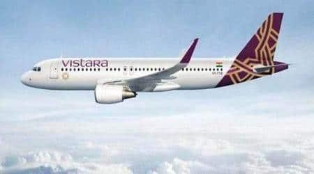 vistara, vistara pay cut, vistara news, Vistara announces 5-20 per cent pay cut for 40 per cent employees till December, aviation sector news, business news, indian express business