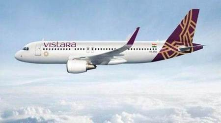 in-flight data connectivity services in Vistara Airlines, in-flight data connectivity in airlines, Department of Telecommunications gives nod to in-flight data connectivity, indian airlines, india news, indian express news