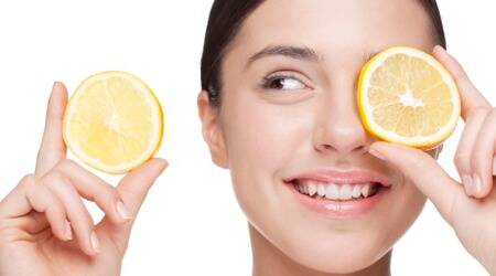 vitamin c benefits for skin, how does vitamin c help skin, does vitamin c improve skin, vitamin c serums, indian express, skincare, beauty secrets