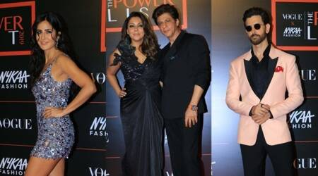 Shah Rukh Khan, Katrina Kaif, Akshay Kumar and others attend Vogue-Nykaa Fashion Awards