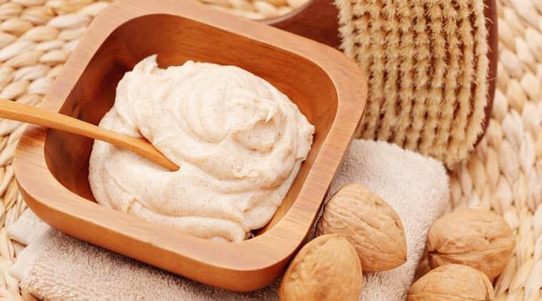 walnut scrub controversy, are walnut scrubs good, walnut scrub benefits, skincare, skincare tips, indian express