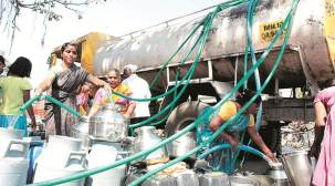 Missing from state records, water tankers make rounds of Pimpri-Chinchwad areas