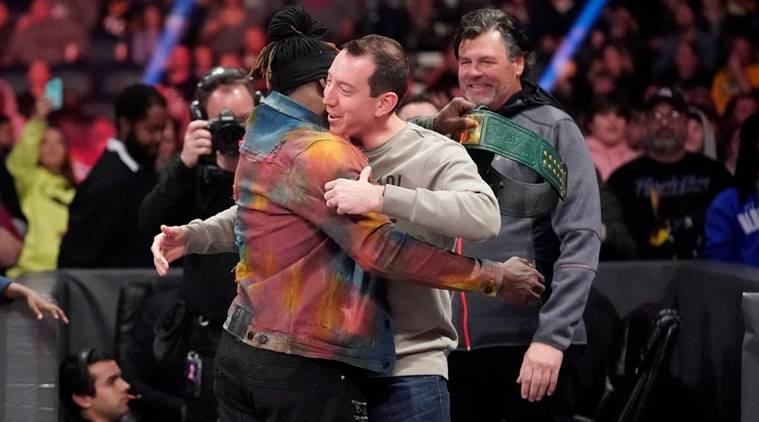 Kyle Busch pins WWE's R-Truth to win 24/7 title belt