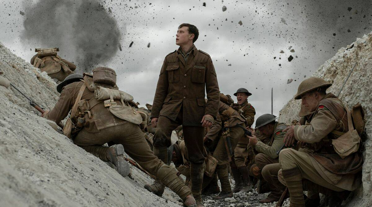 1917 Movie Review Sam Mendes Film Is Worth A Watch Entertainment News The Indian Express