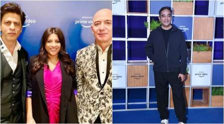 Shah Rukh Khan, Kamal Haasan, Vidya Balan and others meet Jeff Bezos at Amazon Prime Video event