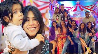 Inside Ekta Kapoor's son Ravie's birthday bash